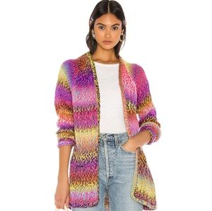 Wildfox Couture Aspen Iridescent cardigan sweater